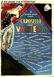 locandina del film CAROSELLO DEL VARIETA'