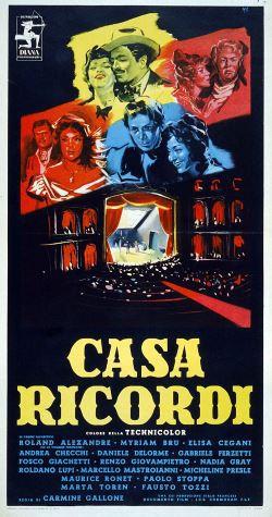 locandina del film CASA RICORDI