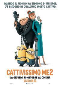 locandina del film CATTIVISSIMO ME 2