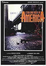 locandina del film C'ERA UNA VOLTA IN AMERICA
