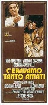 locandina del film C'ERAVAMO TANTO AMATI