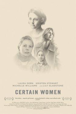 locandina del film CERTAIN WOMEN