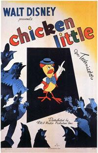 locandina del film CHICKEN LITTLE (1943)
