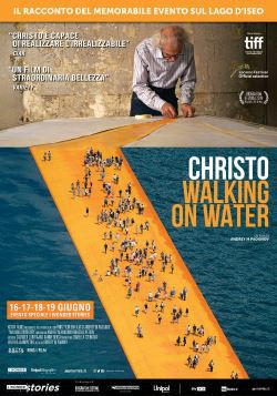 locandina del film CHRISTO - WALKING ON WATER