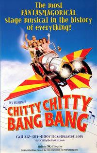 locandina del film CITTY CITTY BANG BANG
