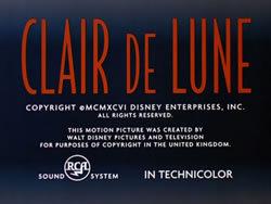 locandina del film CLAIRE DE LUNE (1940)
