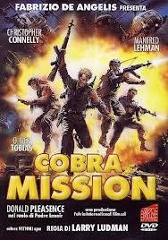 locandina del film COBRA MISSION