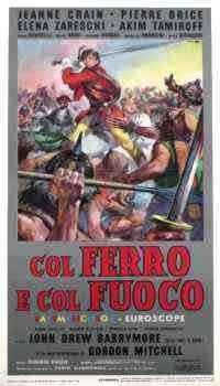 locandina del film COL FERRO E COL FUOCO