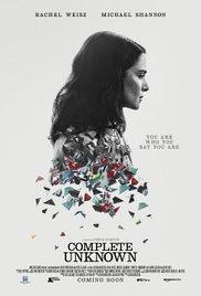 locandina del film COMPLETE UNKNOWN - CAMBIO D'IDENTITA'