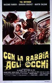 locandina del film CON LA RABBIA AGLI OCCHI