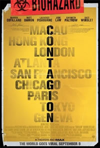 locandina del film CONTAGION (2011)