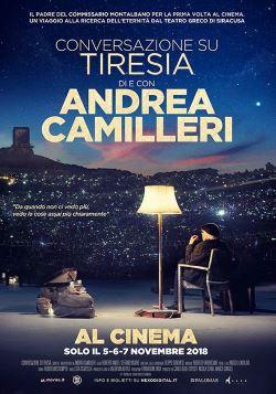 locandina del film CONVERSAZIONE SU TIRESIA. DI E CON ANDREA CAMILLERI