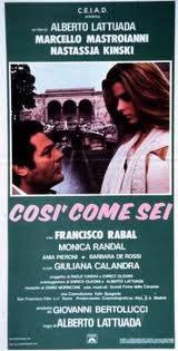 locandina del film COSI' COME SEI