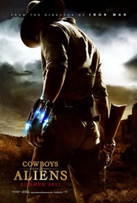locandina del film COWBOYS AND ALIENS