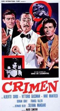 locandina del film CRIMEN