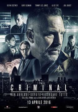 locandina del film CRIMINAL (2016)