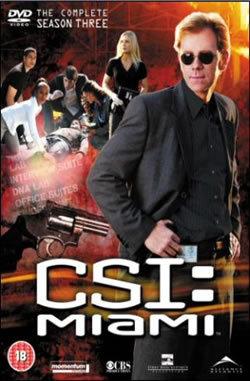 locandina del film CSI MIAMI - STAGIONE 3