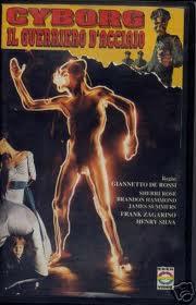 locandina del film CYBORG - IL GUERRIERO D'ACCIAIO