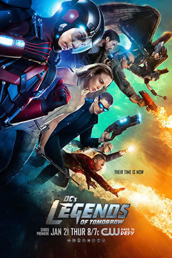 locandina del film DC'S LEGENDS OF TOMORROW - STAGIONE 1