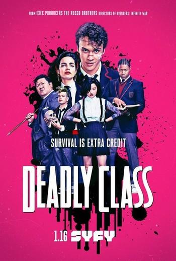 locandina del film DEADLY CLASS - STAGIONE 1