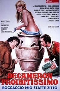 locandina del film DECAMERON PROIBITISSIMO