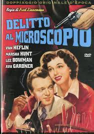 locandina del film DELITTO AL MICROSCOPIO