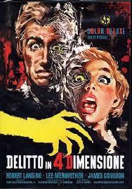 locandina del film DELITTO IN 4° DIMENSIONE