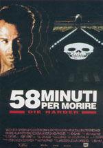 locandina del film DIE HARD II - 58 MINUTI PER MORIRE
