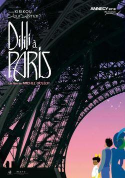locandina del film DILILI A PARIGI