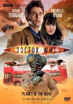 locandina del film DOCTOR WHO - IL PIANETA DEI MORTI