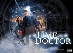 locandina del film DOCTOR WHO - THE TIME OF THE DOCTOR