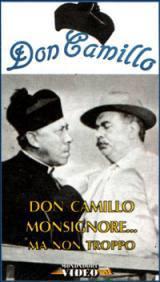 locandina del film DON CAMILLO MONSIGNORE MA NON TROPPO