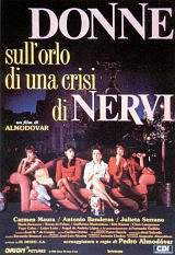 Donne Sull'Orlo Di Una Crisi Di Nervi (1988)