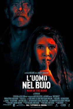 locandina del film L'UOMO NEL BUIO - MAN IN THE DARK