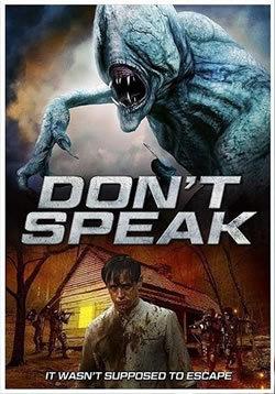 locandina del film DON'T SPEAK