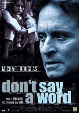 locandina del film DON'T SAY A WORD