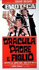 locandina del film DRACULA PADRE E FIGLIO