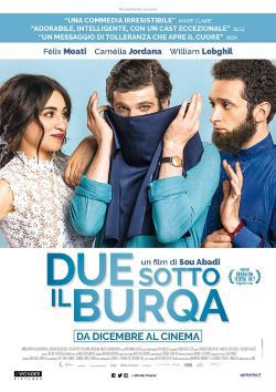 locandina del film DUE SOTTO IL BURQA