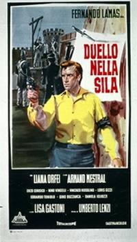 locandina del film DUELLO NELLA SILA