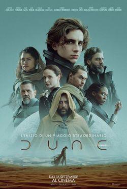 locandina del film DUNE (2021)