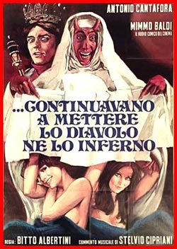 locandina del film ...E CONTINUAVANO A METTERE LO DIAVOLO NE LO INFERNO