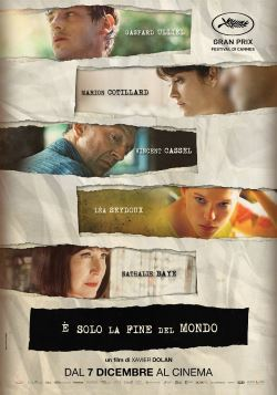 locandina del film E' SOLO LA FINE DEL MONDO