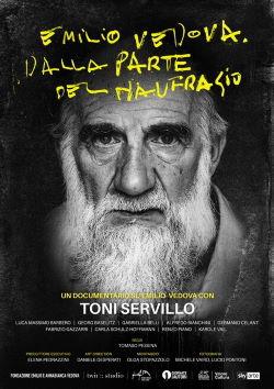 locandina del film EMILIO VEDOVA. DALLA PARTE DEL NAUFRAGIO
