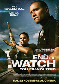 locandina del film END OF WATCH - TOLLERANZA ZERO