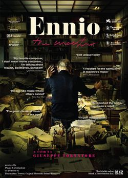 locandina del film ENNIO: THE MAESTRO