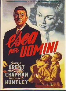 locandina del film ESCA PER UOMINI