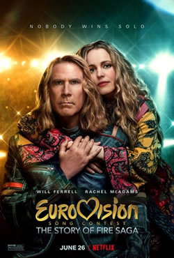 locandina del film EUROVISION SONG CONTEST - LA STORIA DEI FIRE SAGA