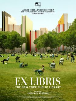 locandina del film EX LIBRIS - THE NEW YORK PUBLIC LIBRARY