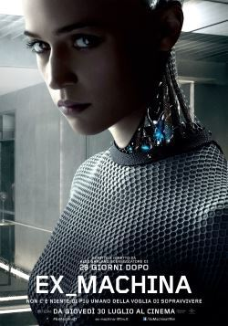 locandina del film EX MACHINA