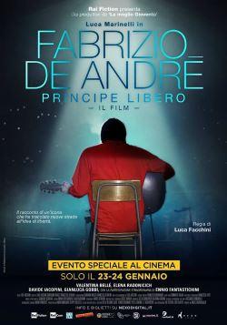 locandina del film FABRIZIO DE ANDRE' - PRINCIPE LIBERO
